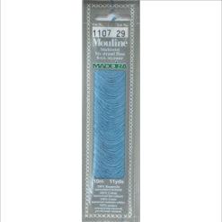 Borduurgaren Madeira mouline blauw 1107 (DMC517)