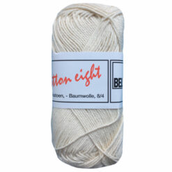 Lammy yarns Cotton eight ecru, 302