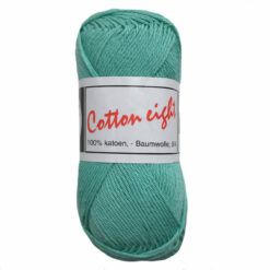 Beijer BV Cotton eight mint groen, 308