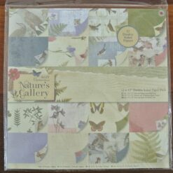 Papermania, paper pack, nature gallery