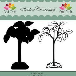 dixi-craft-shadow-clearstamp-flower-6 - tree