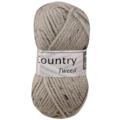 country tweed beige van cheval blanc, acryl en wol garen