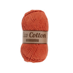 Lammy yarns Eco Cotton oranje 041