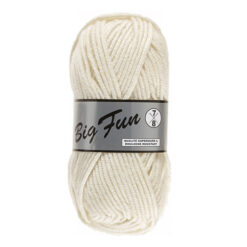 big fun groot ecru 016 acryl garen van lammy yarns