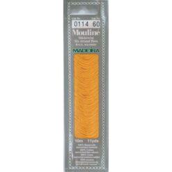Borduurgaren Madeira Mouline oranje 114 (DMC742)