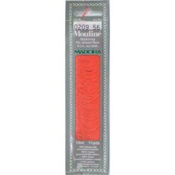 Borduurgaren Madeira Mouline rood 209 (DMC606)
