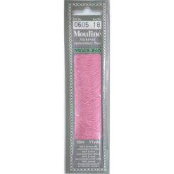 Borduurgaren Madeira Mouline roze 605 (DMC3688)