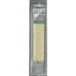 Borduurgaren Madeira Mouline wit 2001 (DMC3033)