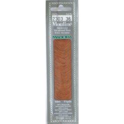 Borduurgaren Madeira Mouline bruin 2303 (DMC975)